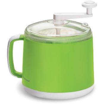 Amazon Com Donvier Manual Ice Cream Maker 1 Quart Green
