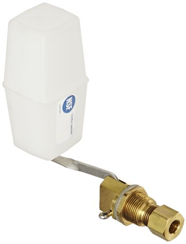 Robert Manufacturing RM292 Series Bobby Series Brass Miniature Valve and Float Assembly, 1/4