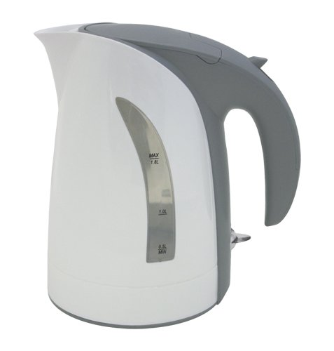 ZUCCOR ZEKMW Milano Cordless Electric Kettle, Boil-Dry Protected, 10 Cup/1.8 L, White, 9.8 X 8.4 X 7.1 (Electric 8 Kettle Tea Cup)
