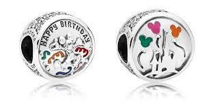 PANDORA - Abalorio de Mickey Mouse para cumpleaños ...