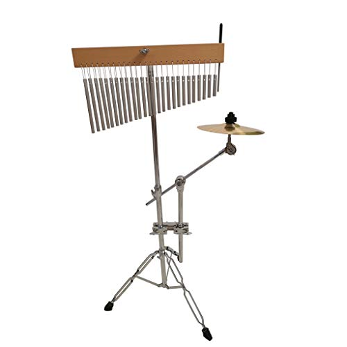 Zyj 36 Sound Tree Percussion Wind Chimes Performance Percussion Band Playing Wind Chimes with Handcuffs and Brackets