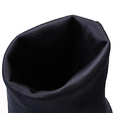 WSX&PLM Scarpe da ballo-Non personalizzabile-Da donna-Moderno / Stivali di danza-Basso-Di pelle / Tessuto-Nero , black/white , us9.5-10 / eu41 / uk7.5-8 / cn42
