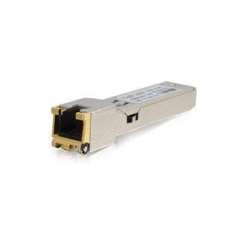 C2G 39501 / GLC-T Compatible 1000Base-T Copper SFP (mini-GBIC) Transceiver