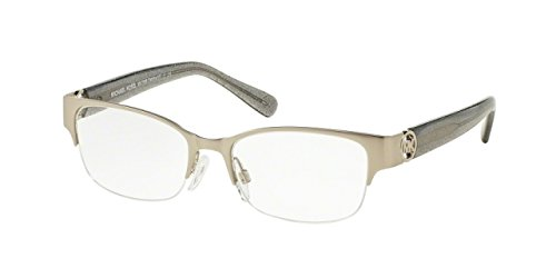 Michael Kors TABITHA VI MK7006 Eyeglass Frames 1074-52 - Satin Silver/grey - Prices Frame Eyeglass