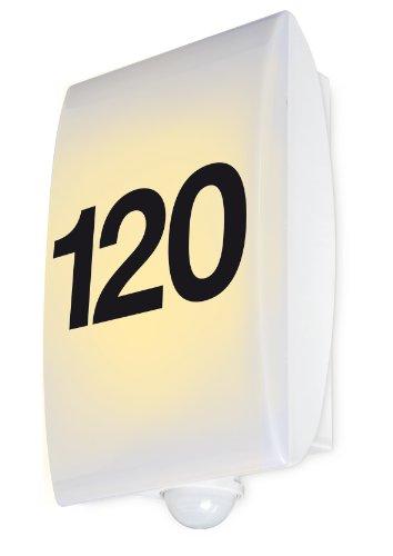 GEV Hausnummernleuchte 180° LLH 629