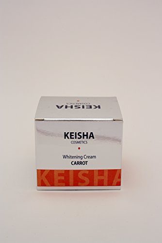KEISHA Carrot Skin Lightener - Natural Lightening Cream Reduces Dark Spots...