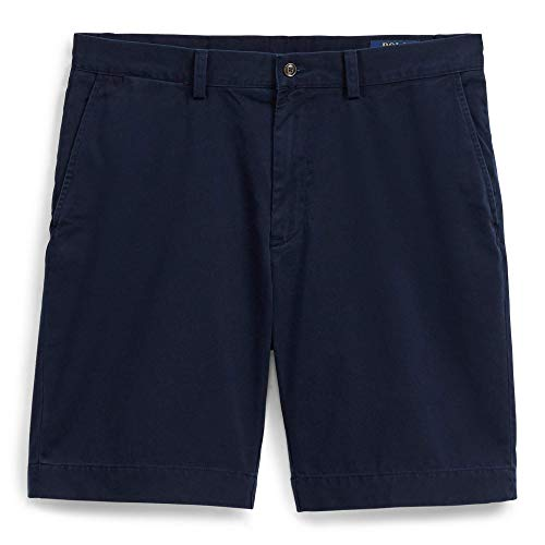 RALPH LAUREN Polo Men's 9 inch Classic Fit Chino Shorts (42, Aviation Navy)