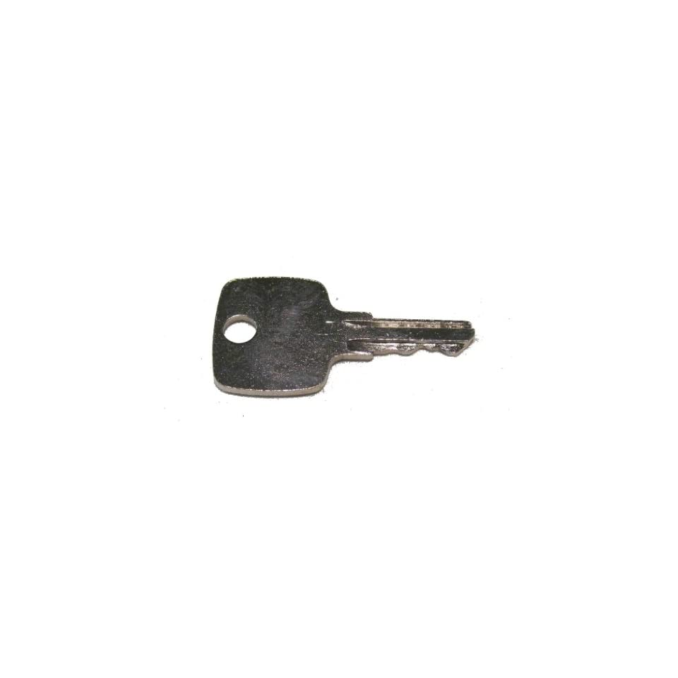 Ignition key for John Deere, Multiquip, Indak, Part Number JD