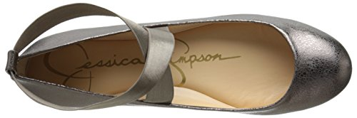 Jessica Simpson Mandayss Donna Balletto Piatto Gunmetal