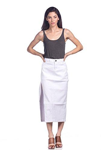 Just A Girl Denim Skirt - 8