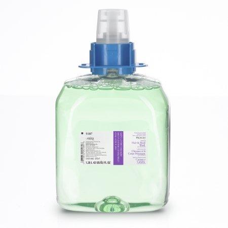 GOJO 516303CT Luxury Foam Hair & Body Wash, 1250mL Refill, Cucumber Melon Scent, 3/Carton