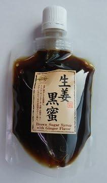 生姜黒蜜 パウチタイプ 180g×10P 黒糖本舗垣乃花 沖縄の美味しい黒蜜を使用 使いやすいパウチタイプ トーストやホットケーキなどのほかアレンジ料理で楽しみの幅が広がります