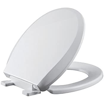 Premium Elongated Toilet Seat Slow Close Cover Easy Lift