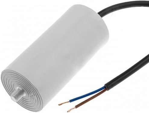 Motorkondensator Anlaufkondensator Betriebskondensator Mkp Kondensator 16 0uf 400v Mit Kabel Ducati 4 16 10 23 14 Baumarkt