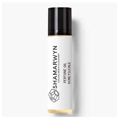 (Honeysuckle Perfume Oil, Natural Organic, Botanical, Pure Essential Oil Blend, Roll-On by Shamarwyn)