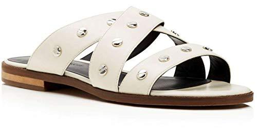 Rebecca Minkoff Women's Susie Slides, Antique White, 7 B(M) US
