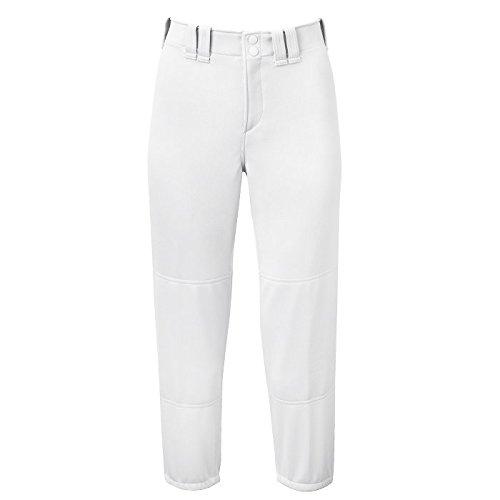 0a08a13c179 Amazon.com   Mizuno Women Select Belted Low Rise Softball Pant White L    Baseball And Softball Pants   Sports   Outdoors