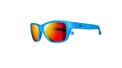 Julbo Kid's Turn Sunglasses, Matte Blue, Spectron 3+ Mlayer Lens, 4-8 Years