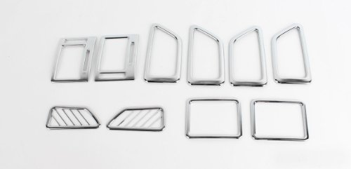 [2002 2003 2004 2005 2006 2007 2008 2009 2010 Hyundai Getz / Click] Chrome Interior Molding Set 10pcs Trim K322