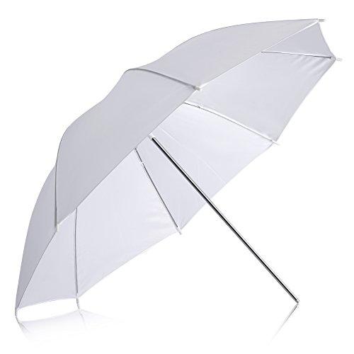 Neewer Professional 33/84cm White Translucent Reflector Umbrella for Photography Studio Light Flash