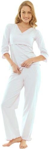 Quarantasettimane Pyjama Manches Longues Blanc M