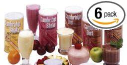 Amazon Com 6 Cans Original 330 Cambridge Diet Plan Weight Loss