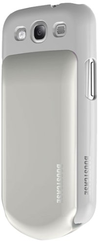 Boostcase Hybrid Snap Case and Detachable Extended Battery for Samsung Galaxy S3 - White/White by Boostcase