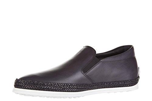 Tod's Slip On Homme en Cuir Sneakers Gris