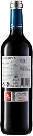 Alcorta - D.O.C.- Rioja Crianza Tinto - Pack de 3 botellas x 0,75 L - Total: 2.25 L