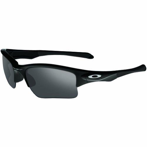 Oakley Youth Boys OO9200 Quarter Jacket Rectangular Sunglasses, Polished Black/Black Iridium, 61 mm (Oakley Sunglasses Kids Polarized)
