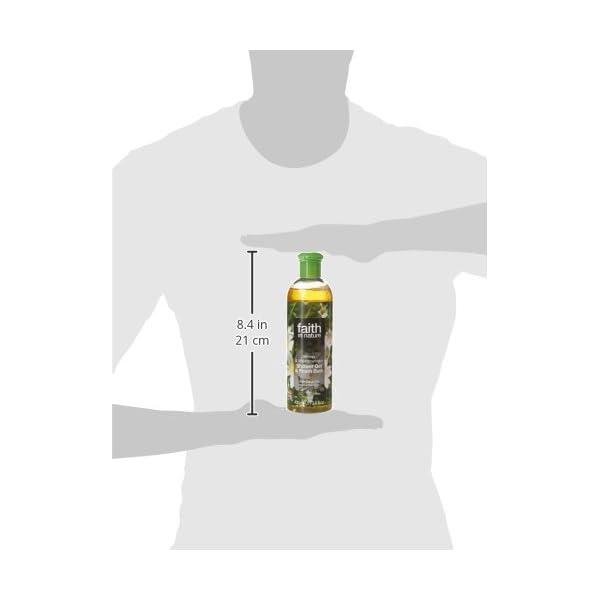 Faith in Nature Hemp and Meadowfoam Shower Gel, 400 ml
