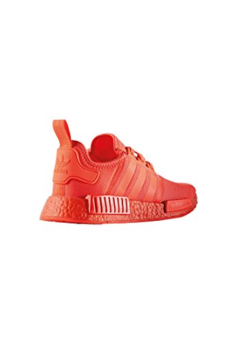 adidas NMD_r1, Baskets Homme, Bianco Rosso (Rosso (Rojsol)