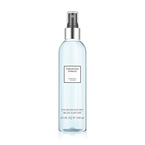 Iris Mist (Vera Wang Embrace Body Mist for Women Periwinkle and Iris Scent, 8 Ounce Body Mist Spray Passionate Floral and Sparkling Fragrance)