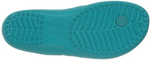 II para Turquoise W Azul Pantuflas Crocs Mujer Tur Kadee Flip fzwqxA5Z