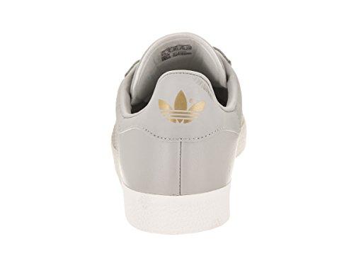 Adidas Décontractée gold Grey grey Originals Femme Metallic Chaussure Gazelle Z6zrZqp
