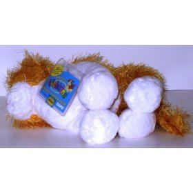 Webkinz Plush Stuffed Animal 2nd Generation No Magic 'W' Orange & White Cat - Webkinz Cheeky Cat