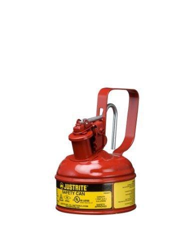 Justrite 0,5Liter Typ 1Stahl rot Sicherheit kann 10001z
