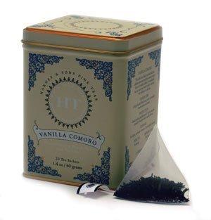 Harney & Sons Fine Teas Vanilla Comoro Tin - 20ct Sachets, Garden, Lawn, Maintenance