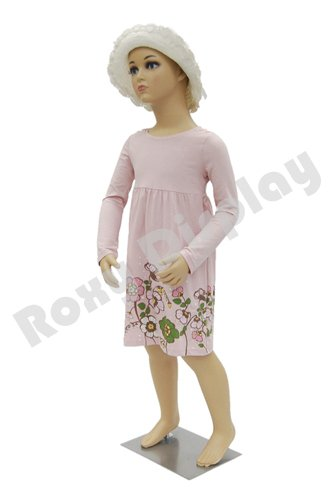 (Realistic Full Body Kids Toddler Mannequin (3-5 Years Old) - Plastic Full Body Children's Mannequin with Wig)