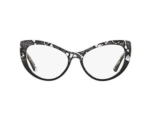 Dolce & Gabbana frame (DG-3285 3152) Acetate Black print - Transparent ()