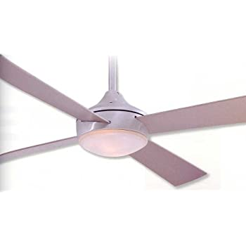 "Minka-Aire F521-ABD, Aluma, 52"" Ceiling Fan with Light"