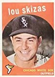 1959 Topps Regular (Baseball) Card# 328 Lou Skizas of the Chicago White Sox VGX Condition