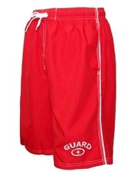 676b673c18cd NY Popular Lifeguard T-Shirt Official Licensed Life Guard Tee Red ...