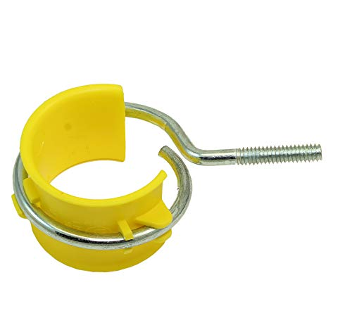 ridle Ring with Saddle - Threaded Machine Screw (1/4-20) Type ()