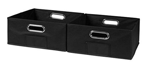 Niche Cubo Half-Size Foldable Fabric Storage Bins (Set of 2), ()