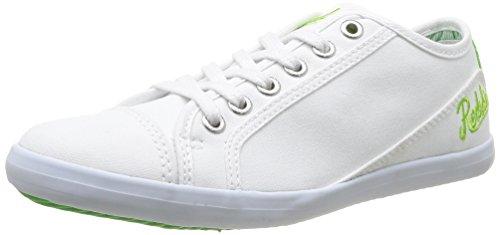 Clearblue Hobbol Cadet - Zapatillas de Deporte Niños Blanc (Blanc/Vert)