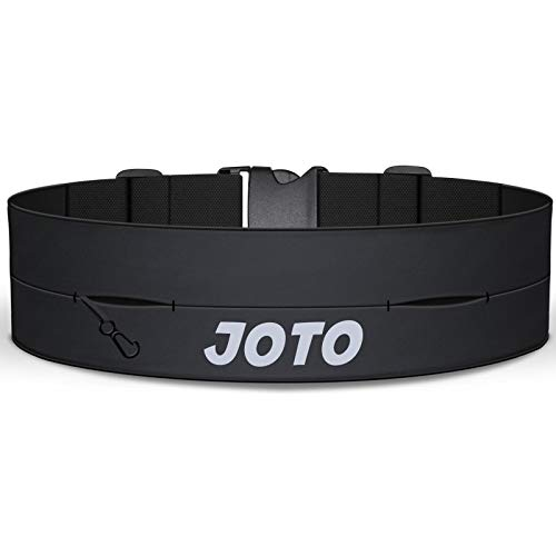 JOTO Running Belt Exercise Runner Riem, Sport Taille Pack voor iPhone 11 Pro Max XS MAX XS XR X 8 7 Galaxy S10+ Note10…