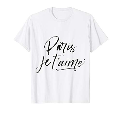 Paris Je T Aime Postcard T Shirt