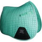 Woof Wear GP Saddle Pad Full Size Mint by WOOF WEAR