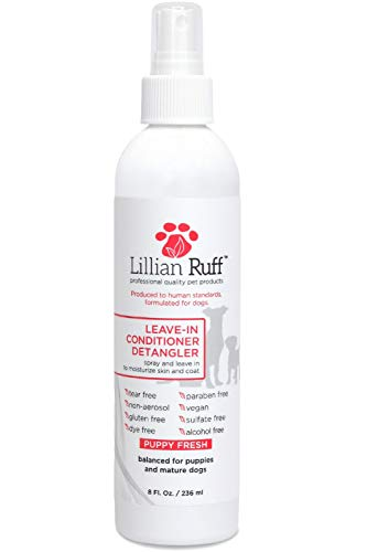 Lillian Ruff - Pet Dog Leave in Conditioner & Detangler Treatment Spray